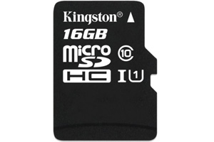 金士顿(Kingston)16G Class10 -45MB/S TF(Micro SD)存储卡